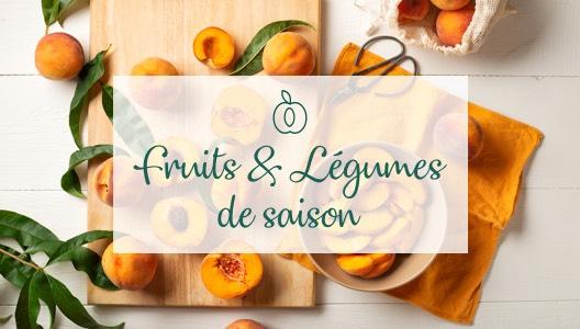 Les fruits & légumes du mois d'août