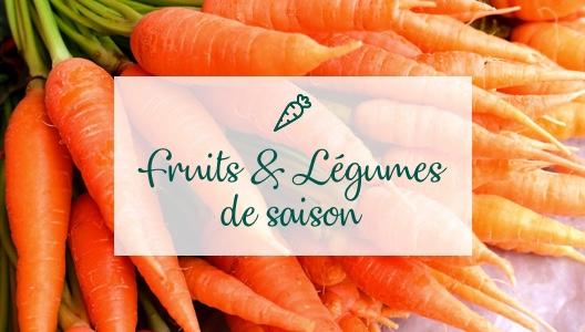 Les fruits & légumes du mois d'octobre