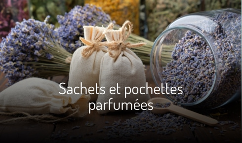 sachets et pochettes parfumés