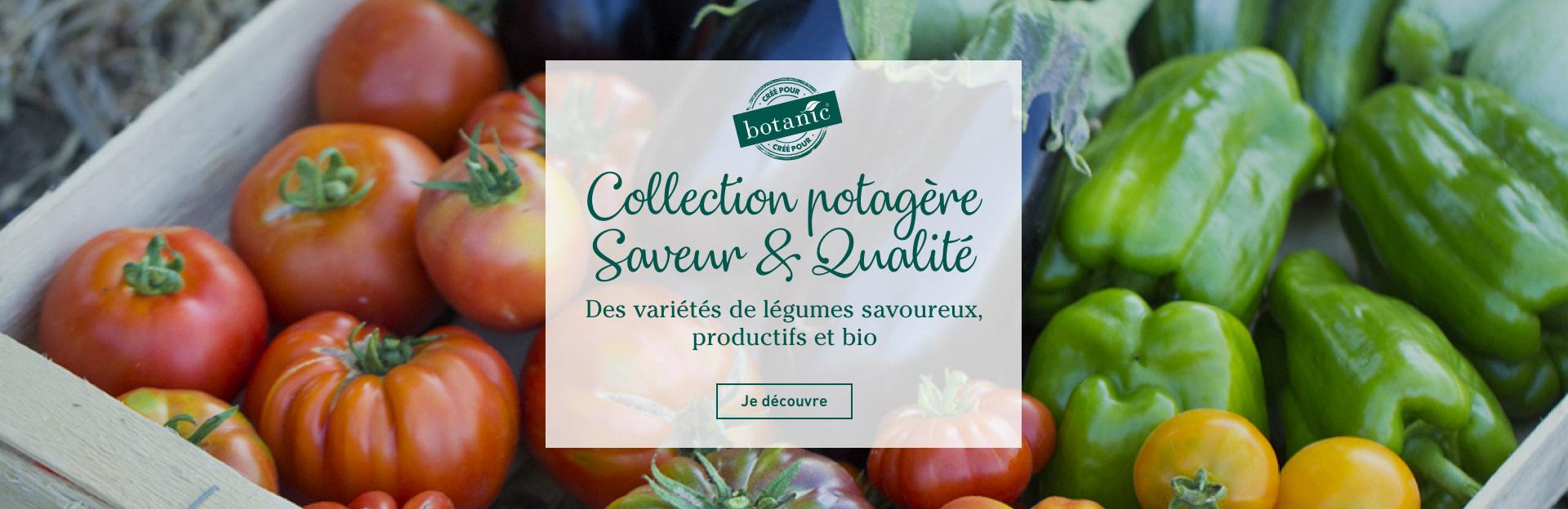 """Collection potagère """"Saveur & Qualité"""" botanic®"""