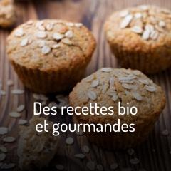 Des recettes bio et gourmandes