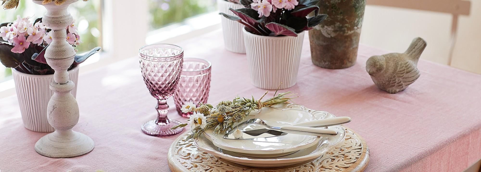 Un charme unique pour votre table