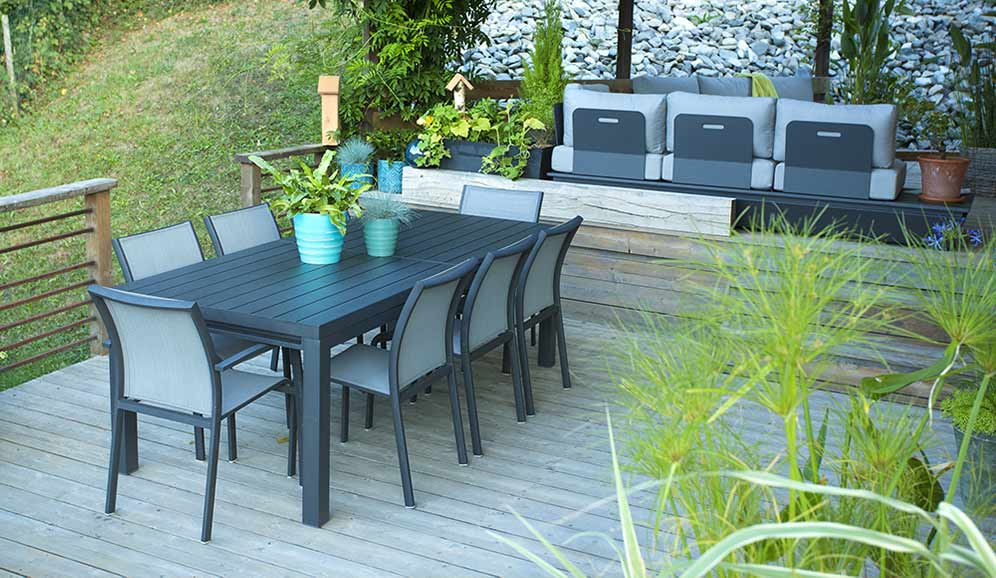 botanic meubles de jardin. Black Bedroom Furniture Sets. Home Design Ideas